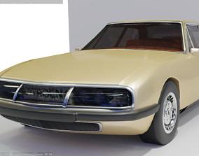 Citroen Sm 1970 3D asset