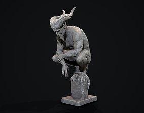 Demon Statue 3D model