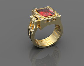 Man ring jewellery 3D print model