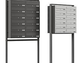 mailbox set 3D model