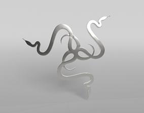 3D model Razer Logo v2 005