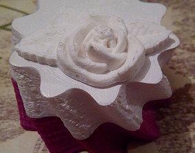 Beautiful Hive Ring Box 3D print model