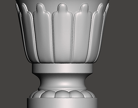 WoodCarving Finial - 3d model for CNC 2