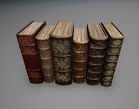 3D asset Old Books Collection
