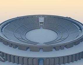 Amphitheater of Pompeii 3D model