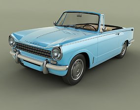 Triumph Herald 13 60 Convertible 3D model
