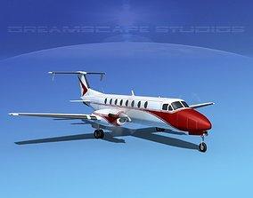 3D model Beechcraft 1900C V14