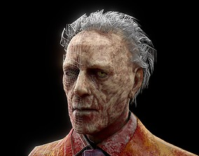 Zombie models 3D model low-poly