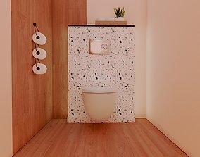 3D asset Services Modern bathroom Terrazzo