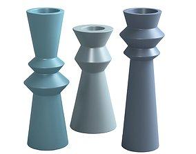 pack 3D model vase 11