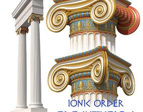 Ionic Order Erechtheion 3D