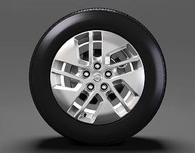 3D Nissan NV Combi wheel 2017