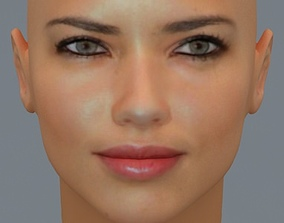 Adriana Lima 3D model