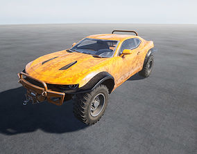 Offroad vehicle Raptor UE4 Project 3D model