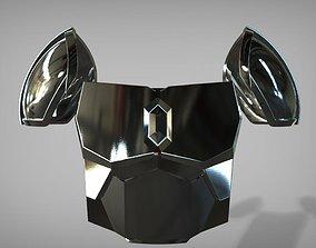 3D printable model Beskar steel armor the mandalorian 2