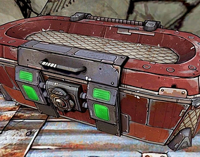 Borderlands Classic Loot Box 3D printable model