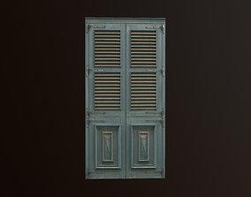 3D model Medieval Door 3 PBR