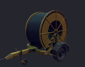 3D model Cabling Winches