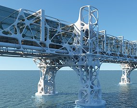 3D model Future Bridge 02