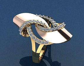 jewellery Gold Ring 3D print model 3D print model