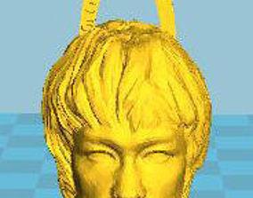 3D printable model Bruce Lee keychain