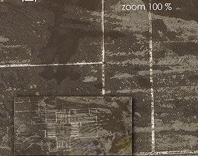 3D asset Aerial texture 306