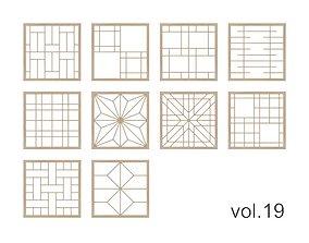 Kumiko Collection vol-19 3D