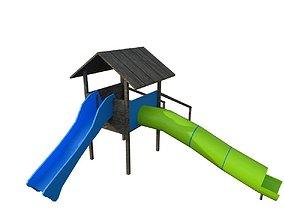3D asset realtime Park Slide