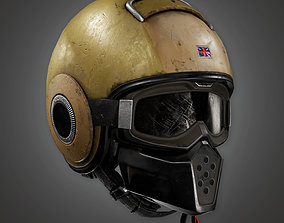 3D model BHE - Police SWAT Helmet - PBR Game Ready