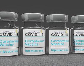3D model Covid-19 Vaccine - Astrazeneca
