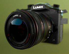 3D GH5 LUMIX DSLR Camera with Lens