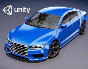 3D asset Realistic Car HD 02
