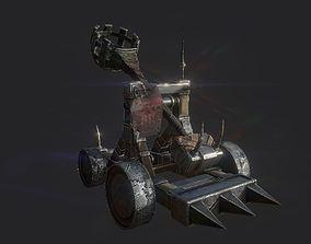 Catapult-gameready-lowpoly-PBR-asset 3D model