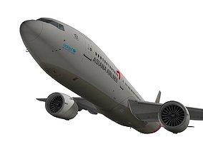 Boeing 777-200ER Asiana Airlines 3D model