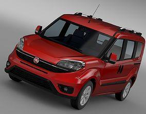 Fiat Doblo 152 2017 3D model