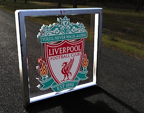Liverpool Logo keyshot 3D
