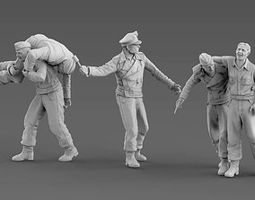 3D printable model German Tank Crew