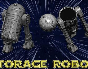 Storage Robot c1 3D print model