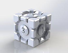 Portal Cube Dice 3D print model