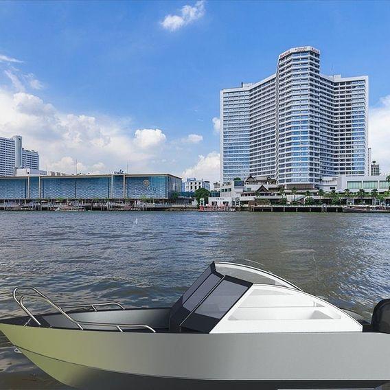 Aluminium boat 6.4 meters