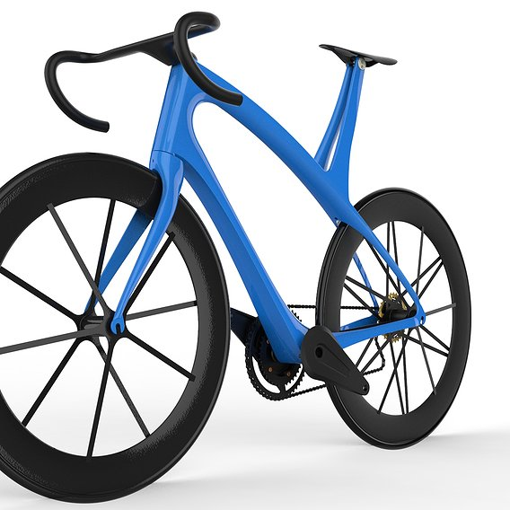 Bicycle Concept 3D model