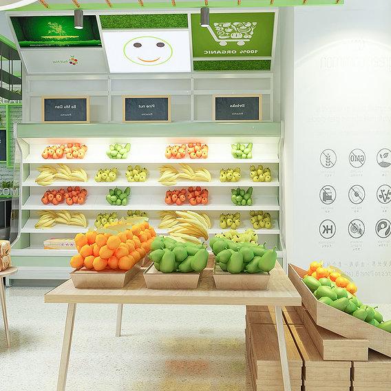 Supermarket Shop store