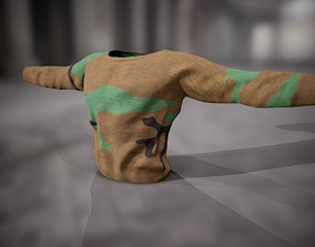 3D asset Sweatshirt 10