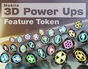 Feature Token Pack 3D model