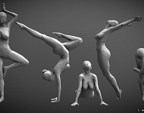 Low-Poly Dancer collecting 002 3D print model