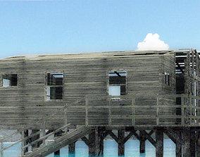 3D model old beach house