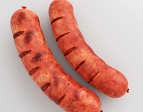 Photorealistic Sausage 3D model