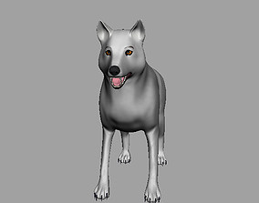 Wild Wolf AAA 3D model low-poly