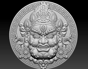 3D printable model Head of Tibetan Buddha