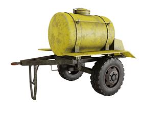 Trailer barrel 3D